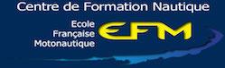 ECOLE FRANCAISE MOTONAUTIQUE Logo